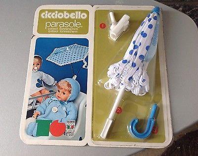 Vintage# 70S Sebino Cicciobello Parasole Ombrellino #Mosc Sigillato