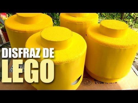 Disfraz de familia LEGO / DIY - YouTube