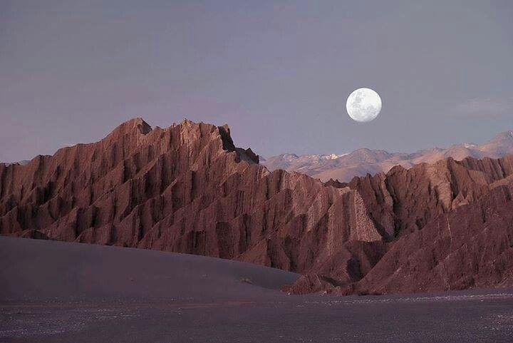 Cile, Valli della Luna
