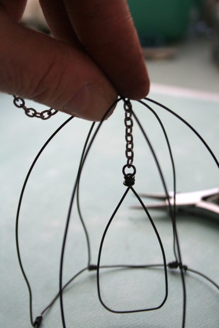 481 best Wire and metal images on Pinterest | Bird cages, Craft and ...