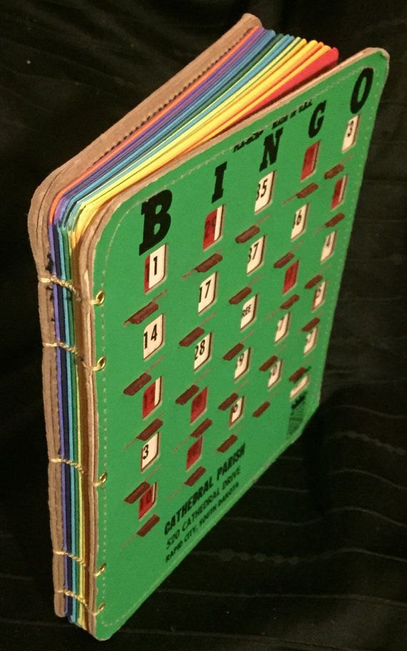 Bingo King Pla-Mor Bingo Book Large by anotherworkinprogres