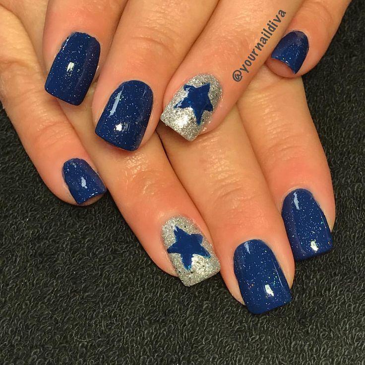 Dallas Cowboy nails