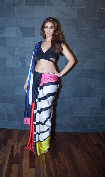 Satya Paul India showcased its Autumn Winter'14 Collection at the Mint Leaf of London, Dubai