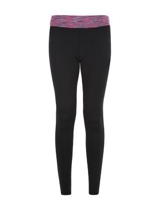 Cover the work out basics with these Pink Space Dye Panel Sports Leggings. £17.99 #newlooksports #sportswear