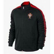 Portugal national team 2015 N98 Black Tranining Jacket [A995]