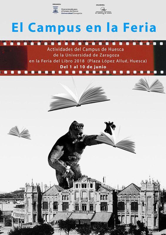 El Campus En La Feria Del Libro De Huesca 2018 R 00844 Poster Movie Posters Art
