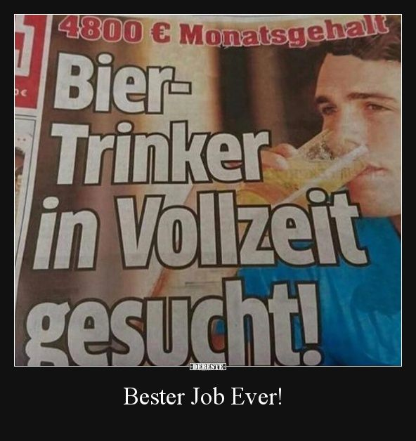 Bester Job Ever!