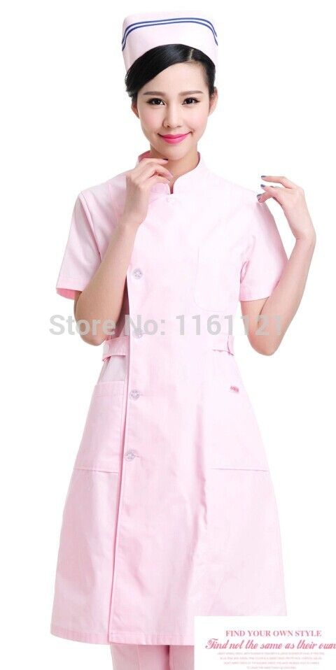 2015 Sale Surgical Cap Lab Coat Jalecos Women's Color Front Opening Nurse Uniform Clothing for Work In Hospital,medical Store