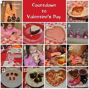 Countdown to Valentine's Day.