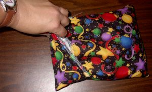 Microwave Heating Bags Corn Bags. Includes Safety Instructions & Patterns