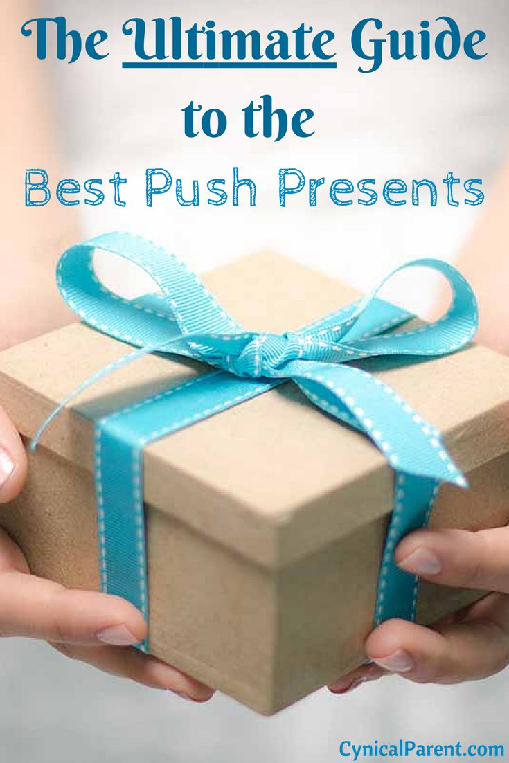 These are some great ideas for push presents (moms-to-be...share it with your husband!)