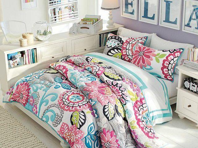 Die besten 25+ Blumen bettbezüge Ideen auf Pinterest Boho - vintage schlafzimmer einrichten verspielte blumenmuster als akzent