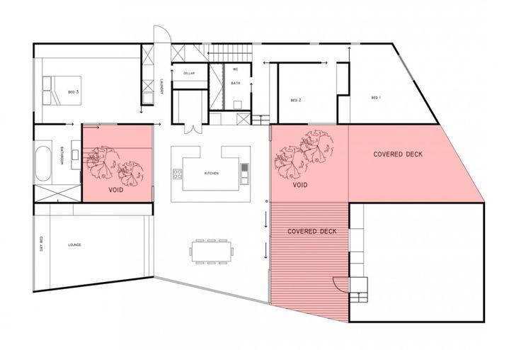 Allens Rivulet House / Room11