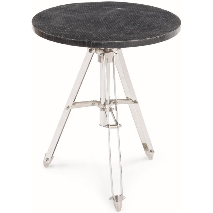 Redefine contemporary style with the Black Horn Telescope Table from Regina Andrew Design. With an artist's eye, their assortment skillfully mixes modern with rustic, elegant with casual, romantic with relaxed. They have an eclectic vision that resonates with natural style.