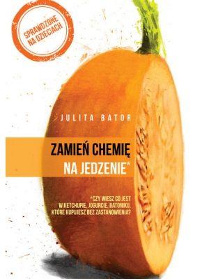 Zamień Chemię Na Jedzenie W dwudziestu rozdziałach udziela porad, jak unikać szkodliwej żywności, ale także jakie naczynia stosować w kuchni, jak przemycać wartościowe produkty w potrawach. Podaje 81 przepisów, które przywracają polskiej kuchni dawną, utraconą przed laty świetność.
