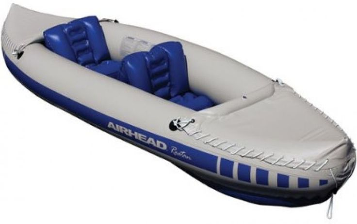Airhead Roatan Inflatable 2-Person Kayak Canoe Boat UV-resistant Nylon Rafting #Airhead