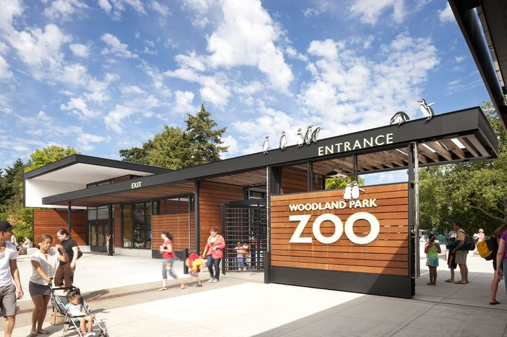 Gallery of Woodland Park Zoo New West Entry / Weinstein A