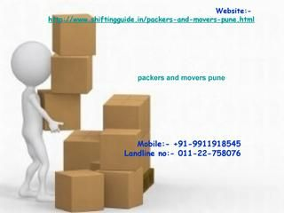 Shiftingguide in  shiftingguide.in offers free quotes from best packers and movers, movers and packers of India. Get free quotes today to compare and select the best packers and movers for household & commercial shifting, car transportation and international move. For best packers and movers in India http://www.shiftingguide.in/packers-and-movers-bangalore.html http://www.shiftingguide.in/packers-and-movers-pune.html http://www.shiftingguide.in/