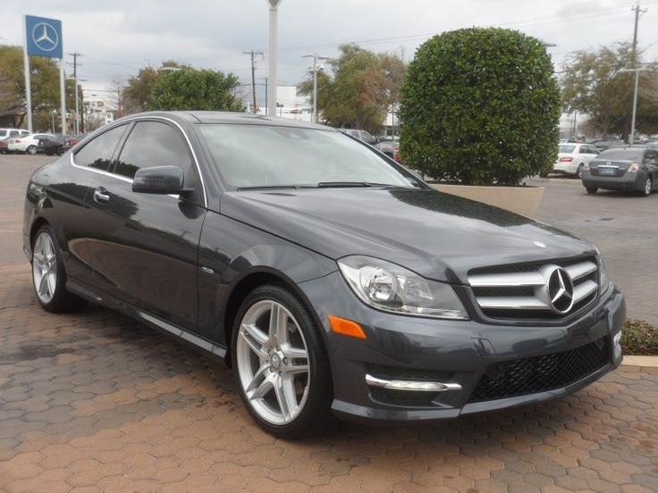2012 mercedes benz c class c250 coupe w navigation in for Mercedes benz in dallas