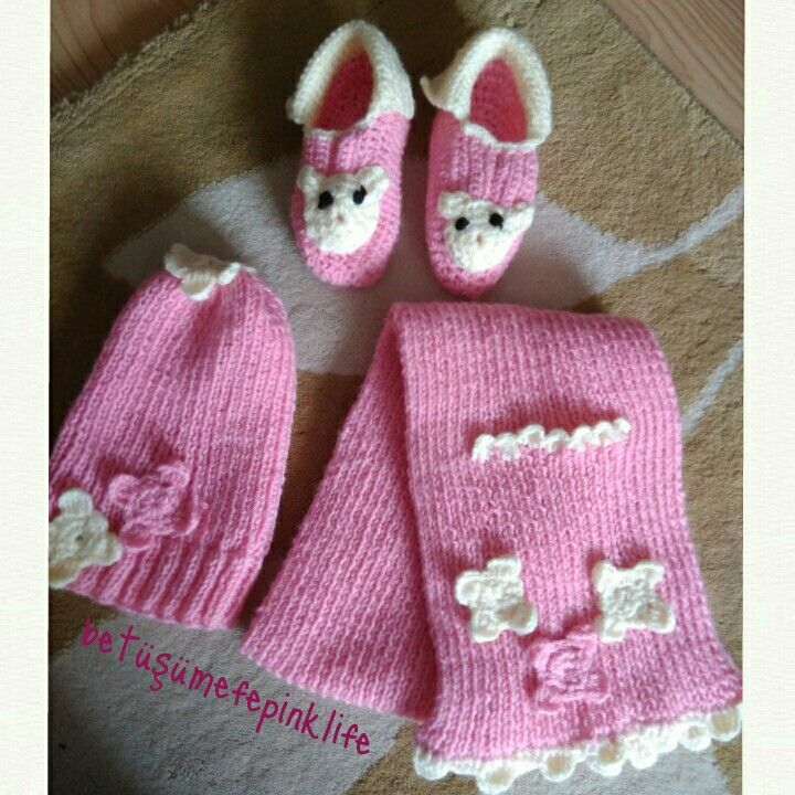#pink #örgü
