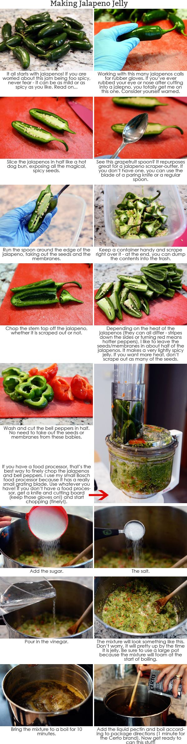 Jalapeno or Hot Pepper Jelly Canning Tutorial | Mel's Kitchen Cafe