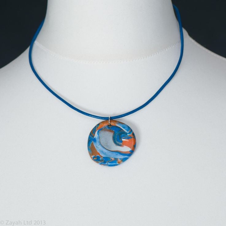 Munster - Blue Pendant from Zayah