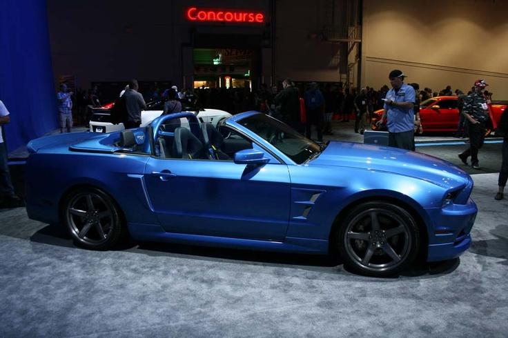 SEMA 2012 Mustang