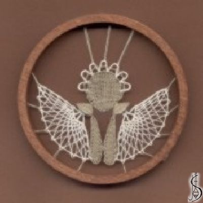 No. 10122     Dark / light frame without glass, diameter 9 cm. Price: € 11 ............................  Protected by copyright!