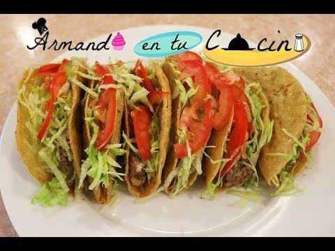 (355) Tacos De Carne Los mejores - YouTube