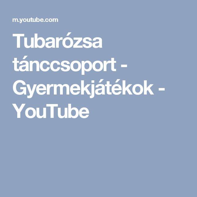 Tubarózsa tánccsoport - Gyermekjátékok - YouTube