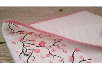 ORGANIC Duvet & pillow set Cherry blossom