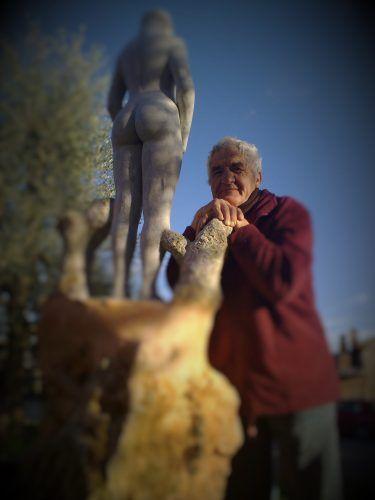 135 Guerrino Degli Esposti scultore | 'Sentiero Sottile' il Blooog di Ebe Navarini