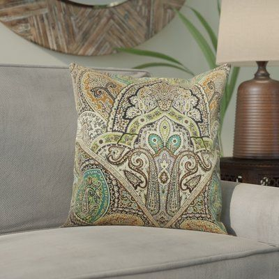 World Menagerie Wynnfield Throw Pillow Color Emerald Size 20 H X 20 W Products Pillows Throw Pillows Cushions