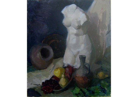 Original Oil Painting. Still life by OilOxOil on Etsy, $195.00