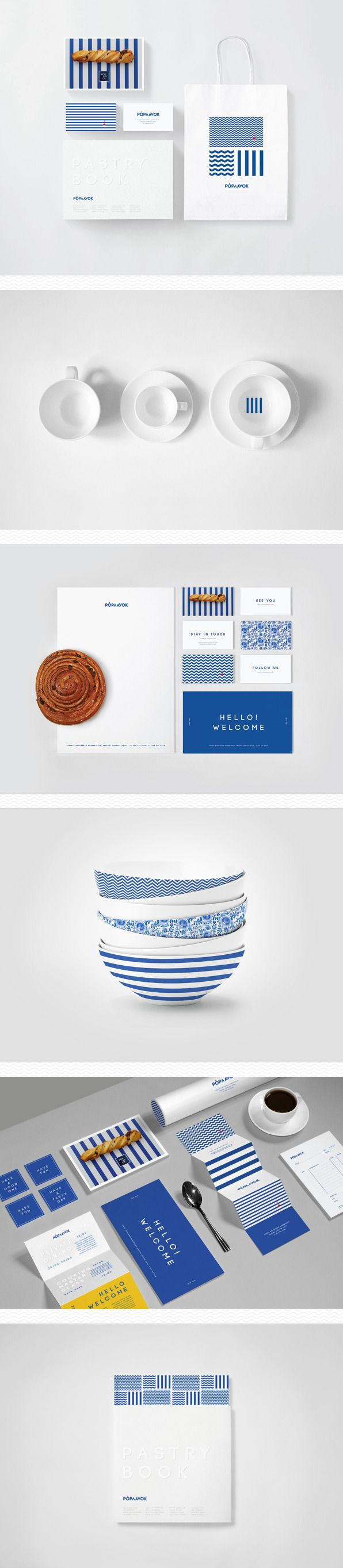 Poplavok identity | #stationary #corporate #design #corporatedesign #identity #branding #marketing < repinned by www.BlickeDeeler.de | Take a look at www.LogoGestaltung-Hamburg.de