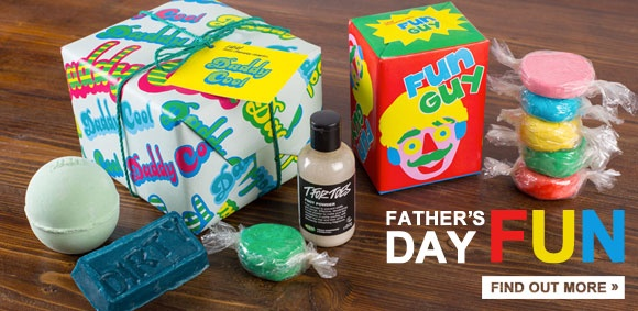 LUSH Father's Day Range