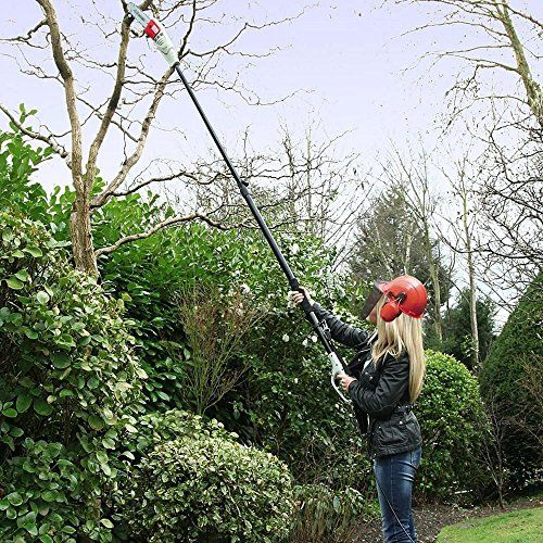 buy now   									£129.99 									  									Lopping out of reach branches needn't be a chore, problem, or safety issue with our new and improved mains-powered lightweight telescopic chainsaw from Eckman. The handle adjusts  ...Read More