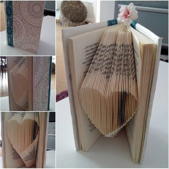 Har varit stor efterfrågan på hur man viker ett hjärta av en bok så som jag gjort! ..så naturligvis så ska ni få er en beskrivning, hoppas ni förstår :) Om inte så får ni gärna säga…