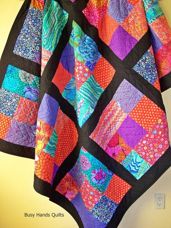 Modern Twin Quilts for Sale and Ready to Ship with FREE Shipping-Handmade by Myra Barnes of Busy Hands Quilts-Christmas Gift Ideas