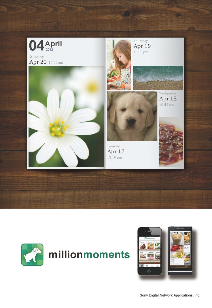 million moments party card