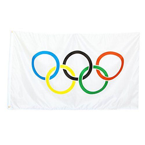 BRUBAKER Nylon Olympics Flag 3 Feet x 5 Feet! BRUBAKER http://www.amazon.com/dp/B00UCCWMSE/ref=cm_sw_r_pi_dp_qN0lxb1DBHSZ3