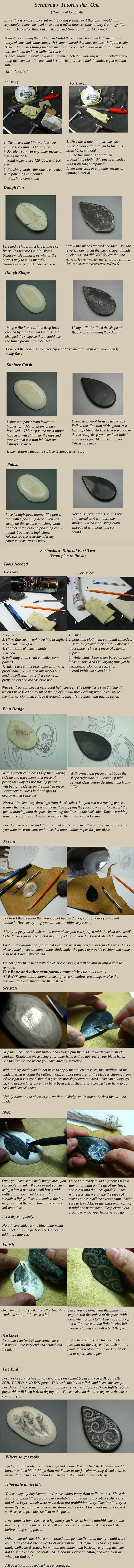 Scrimshaw tutorial-may have to try this.