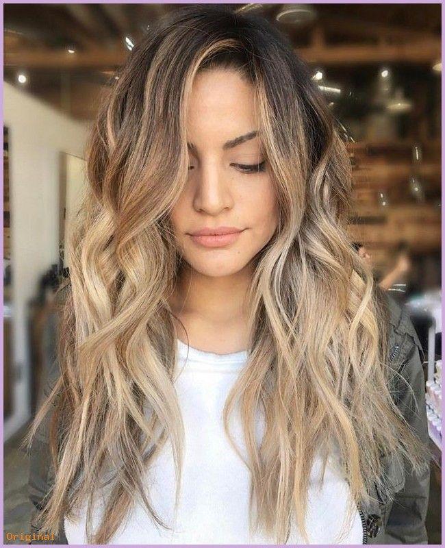 lange Haarmodelle – Sommer Style: Strand wellige Frisuren #bob #beachwaves #hair…