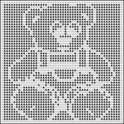Free Teddy Bear Filet Crochet Afghan Pattern : 1697 best images about tricot filet et grille on Pinterest ...
