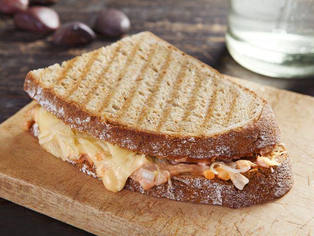Vegetáriánus Reuben szendvics - Receptek | Ízes Élet - Gasztronómia a mindennapokra