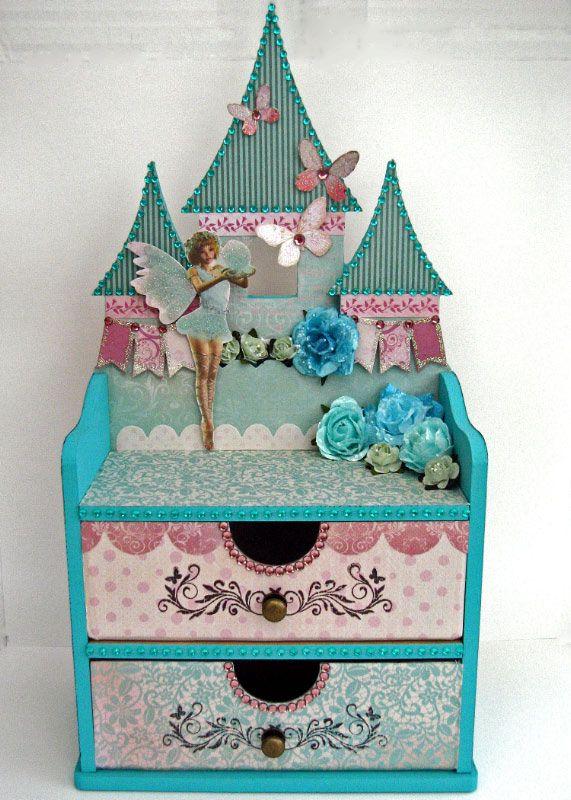 Kaisercraft Fairy Castle Jewellery Box - Scrapbook.com