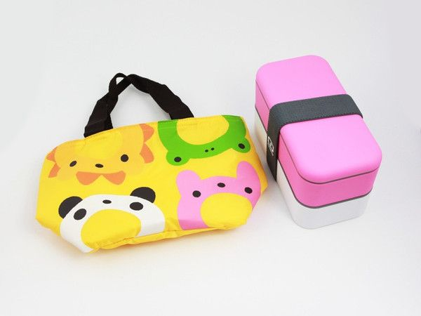 Cool Lunch Bag Quartet  available at bentoandco.com