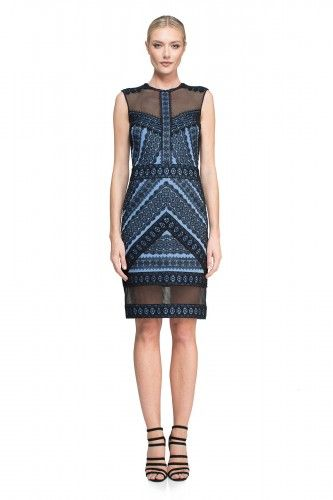 AUG16561M Sukienka koktajlowa  #coctaildress #dress #simple #fashion #new #glamour