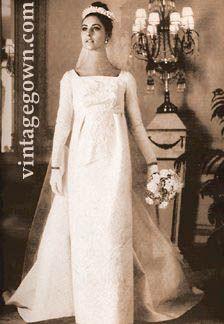 28 best 1960s style wedding dresses images on Pinterest | Wedding ...