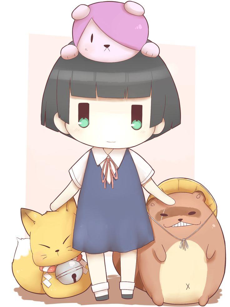 Kokkuri-san, Ichimatsu Kohina, Inugami & Shigaraki